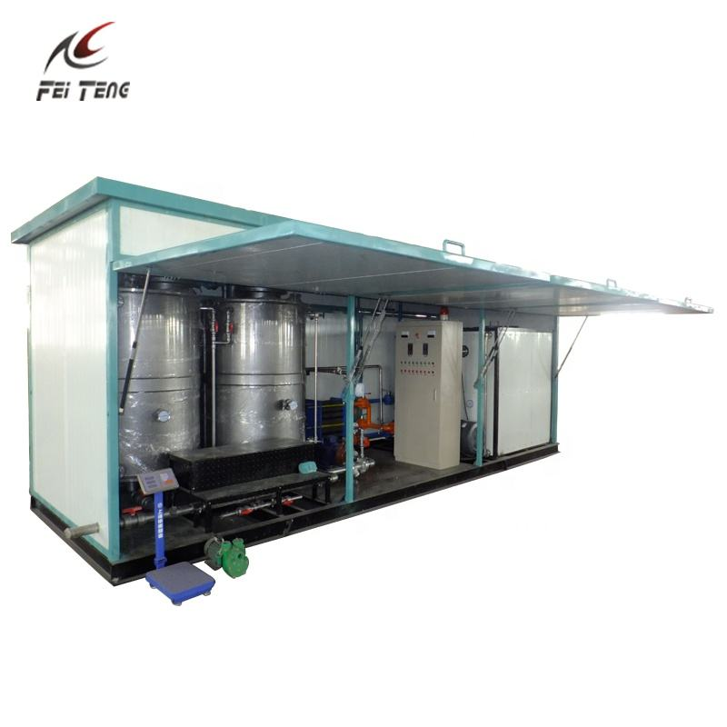 Anti Corrosion Emulsifier Pump Bitumen Emulsion Plant For Road Spray Coating
