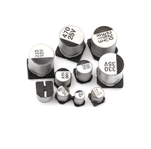 Hot Selling Electronic Components 4x 5.4mm Surface Mount SMD Aluminum Electrolytic Capacitors 16V 10UF