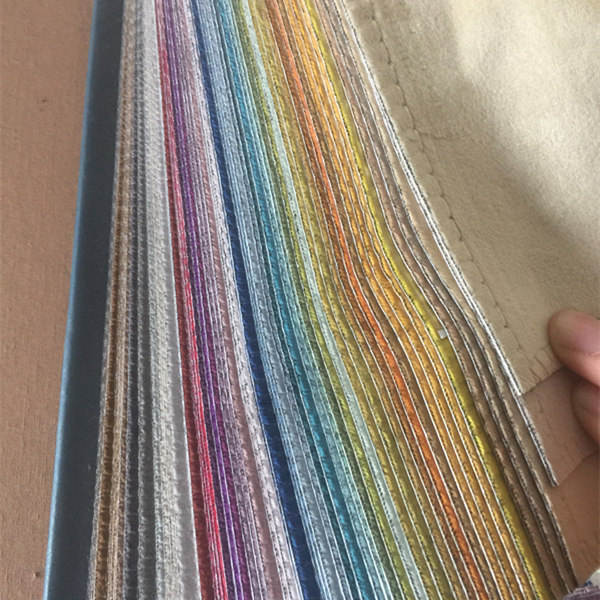 280cm width 100% polyester super soft holland velvet blackout curtain fabric 56 color options ready to ship