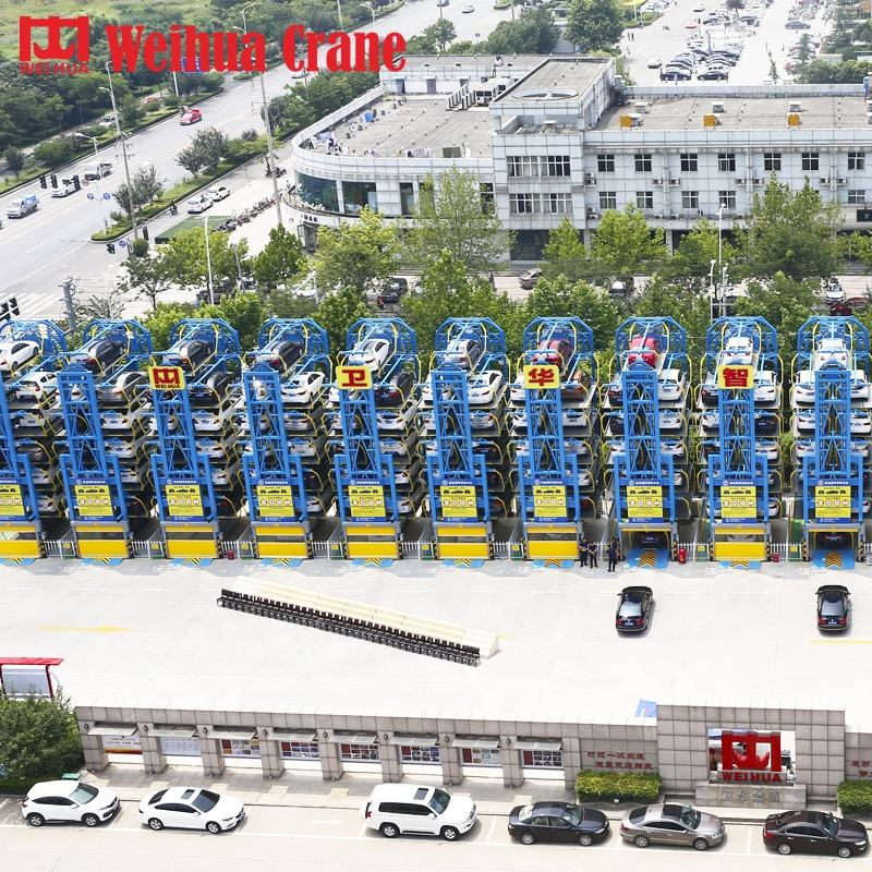 Weihua Motor Drive Electric Garage Auto Service Giratorios Automotive Parking System