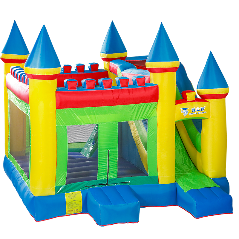 Hot Selling Nylon Adult Used Commercial Inflatable Bounce House Castle For Sale Air Blower