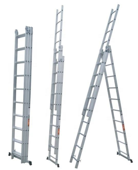 6m price en 131 aluminum extension ladder parts,aluminum folding ladder,en 131 multi-purpose aluminum ladder