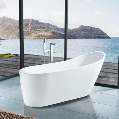 Hot selling Acrylic Freestanding Bathtub in White 5006