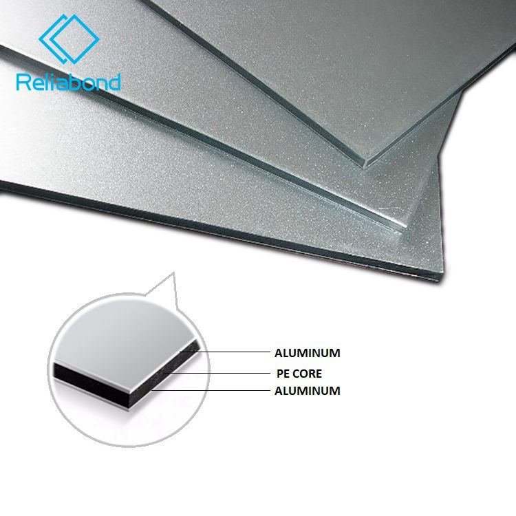 Alpolic 3mm solid aluminum cladding acp acm with China manufacture