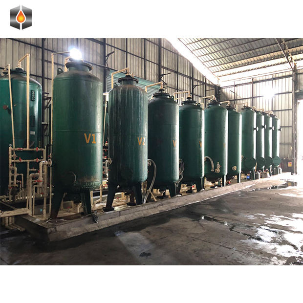crude 98% purity industrial grade glycerol refinery processing making purification machine plant