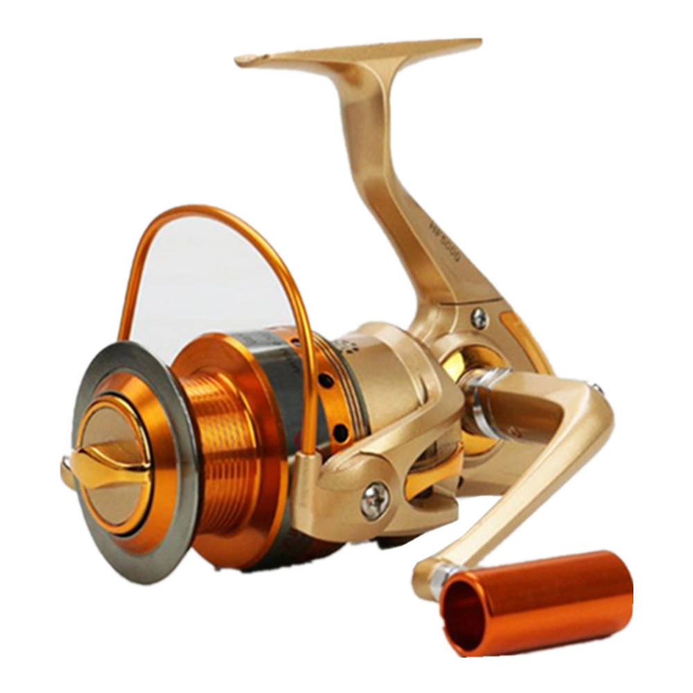 Carretilha Pesca Fishing Reel 12BB 5.2:1 Metal Spinning Fishing Spinning Reel Carp Fishing Daiwa Molinete
