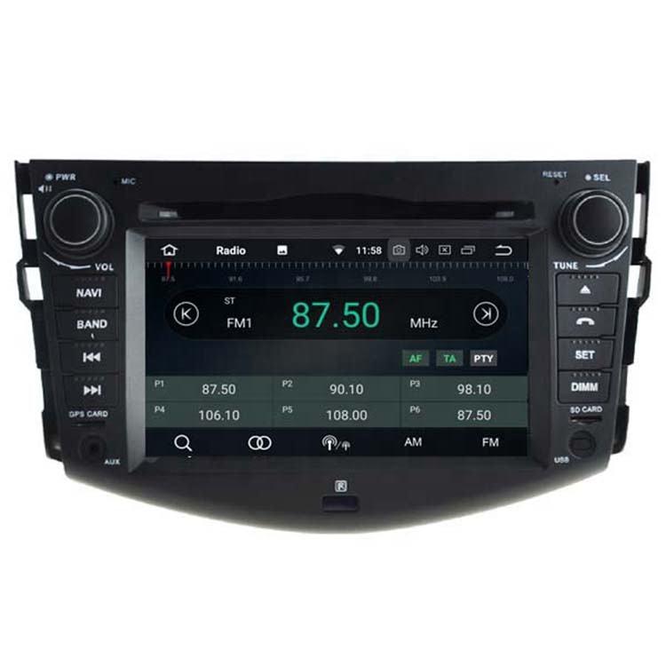 WITSON ANDROID 8,1 para TOYOTA RAV4 2008-2011TOUCH pantalla BLUETOOTH de AUDIO de coche reproductor de DVD/<span class=keywords><strong>CD</strong></span>