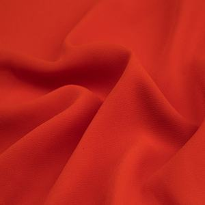 75 D high quality chiffon high twisted sanded cheap pure polyester wholesale pearl fabric