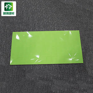 30x60 العتيقة الأخضر منقوش ملون ملمع بلاط الحمام بلاط الحمام خمر الأخضر لامعة