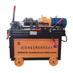 Steel bar thread rolling machine & rebar thread rolling machine