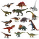 Hot selling simulation dinosaur toys plastic model for kids