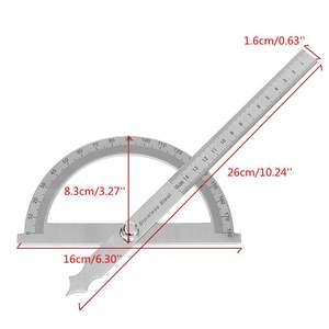 0-320 ° Precision Angle mesure Finder écailles Rapporteur D/'Angle Mesure Outil