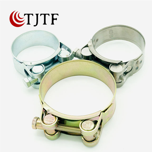 High Strength Heavy Duty European Type Hose Clamp