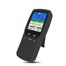 Air Quality Detector Indoor/Outdoor HCHO & TVOC Tester PM2.5 Meter Monitor Tester With Rechargeable Battery Temperature