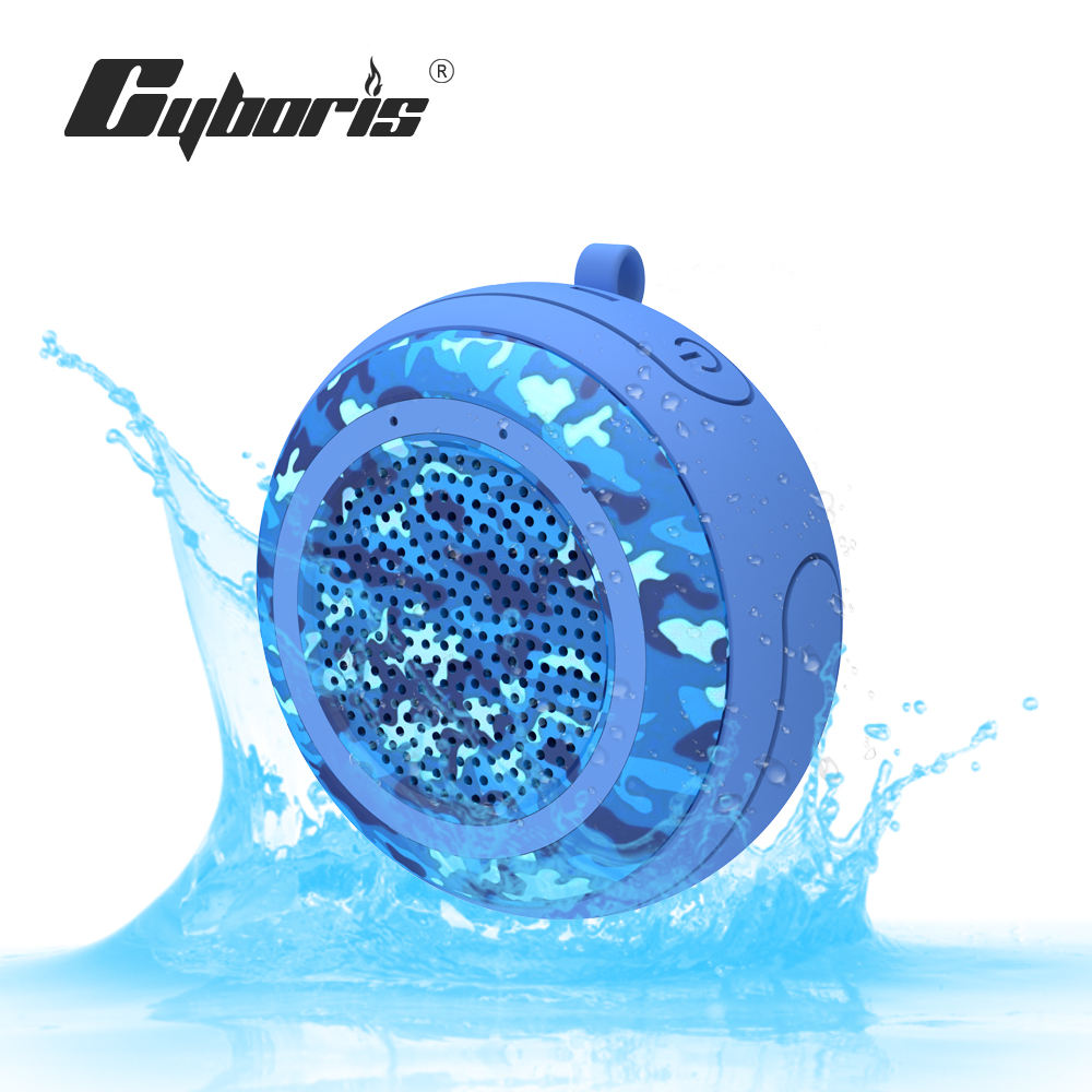 Portable Wireless IPX7 Waterproof Floating Bluetooth Speaker with TWS Function, Deep Bass, Stereo Pairing for Swimming Pool
