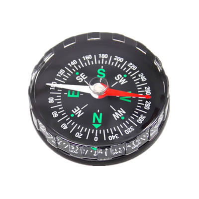 20/30/40/45mm Liquid Filled Button Compass Plastic Mini Compass For Camping Hiking Outdoor Travel