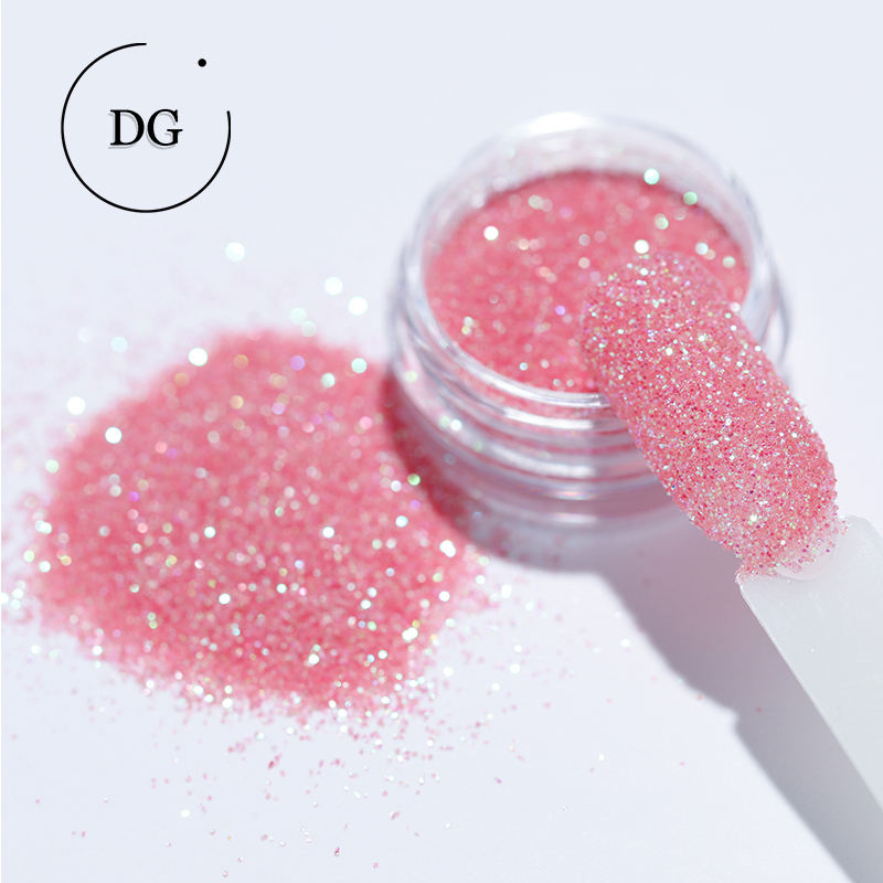 "1/128"" Wholesale Eco-friendly PET Iridescent Hexagon Shape Glitter Powder Face Body Craft nail glitter"