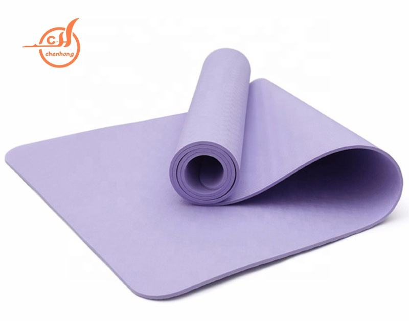 Wholesale Gym Yoga Exercise Mat TPE 6MM Yoga Mat With Custom Logo
