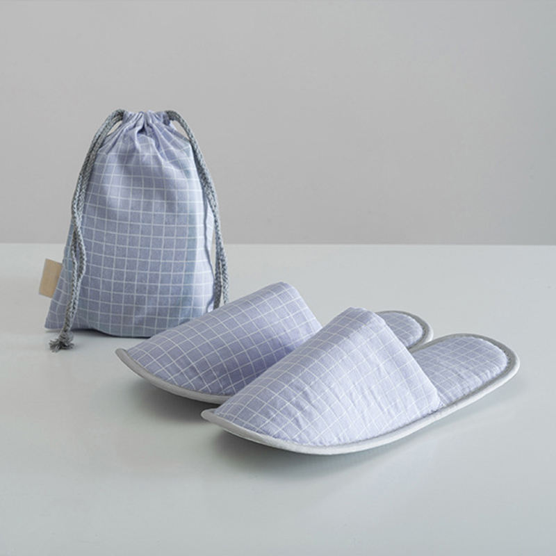 Direct Factory made wegwerp non slip <span class=keywords><strong>hotel</strong></span> levert gast slippers met Schoen zak