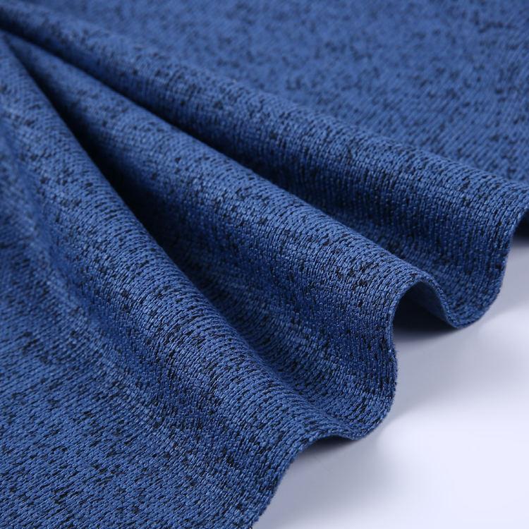 Poliestere cationico tessuto di lavoro a maglia bowling del panno morbido tessuto per le scarpe