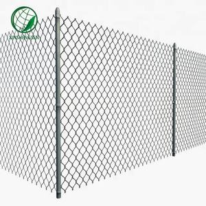 Decorative Galvanized 6 Foot Chain Link Fence Farm Fence