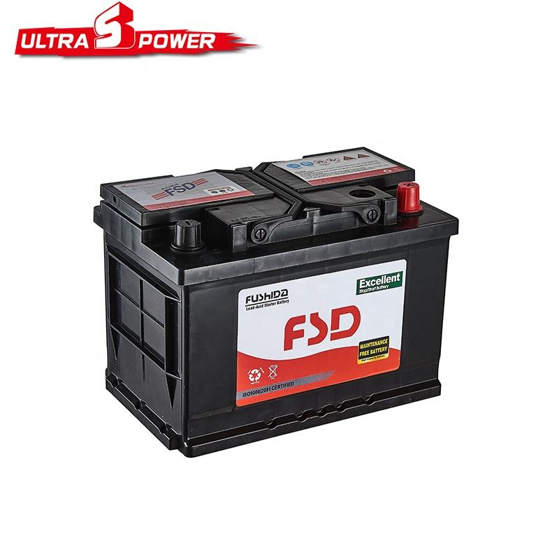 Factory Direct Sale Auto Capacity Car Battery 12V 80AH