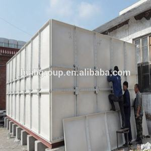 Grote volume food grade grp sectionele 1000m3 water tanks
