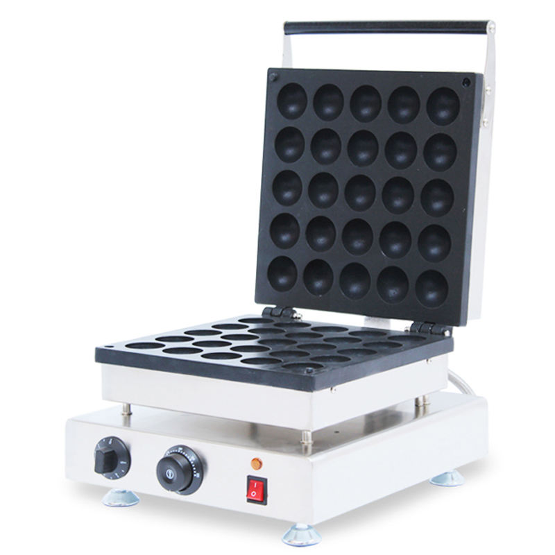 25 commercial Bomb Burning machine bomb burning waffle maker commercial industrial Big grill fish waffle, ball waffle maker
