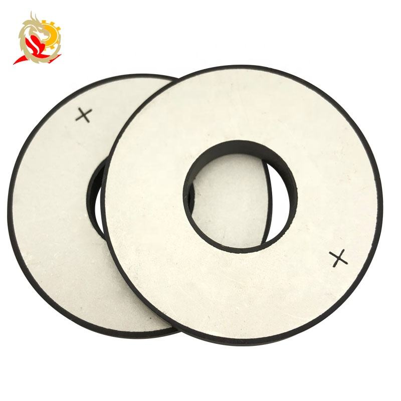 25x10x5mm Piezoelectric Ceramic Material PZT4 PZT5 PZT8 Tube Disc Ring Piezo Ceramic