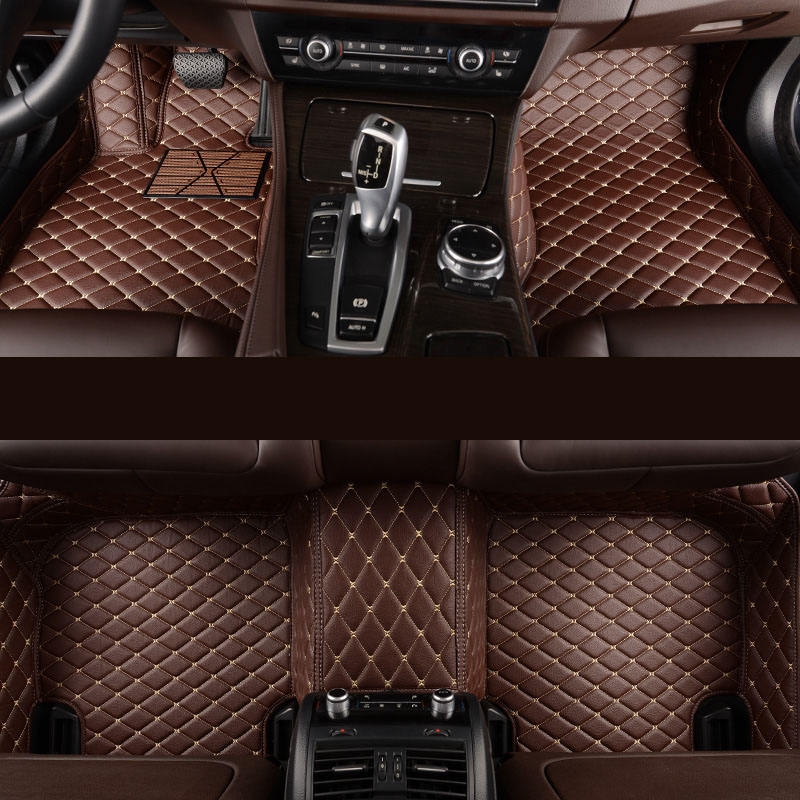 5D Special Cars Size leather car mats