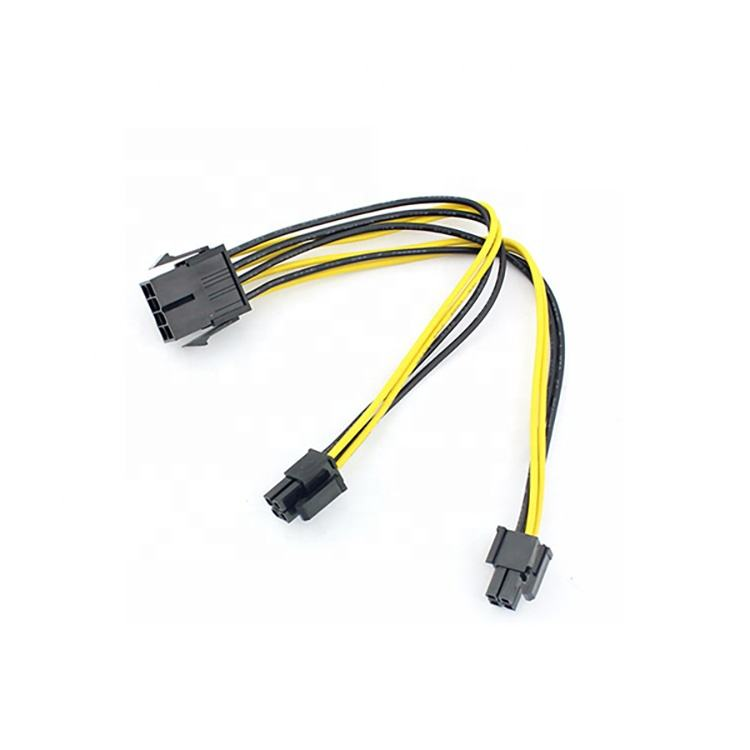 7 Pieces Custom Power Supply Cable for Micro and Full ATX Motherboard with 24 Pieces Comb Set