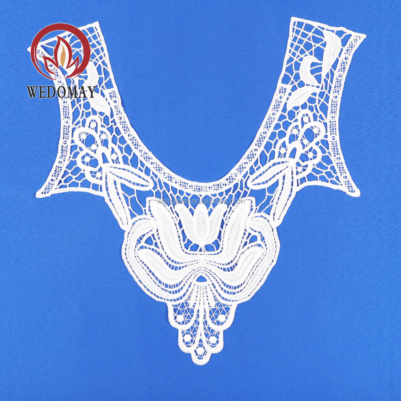 Bridal embroidery applique 35 cm X 35 cm embroidery lace embroidery for dress