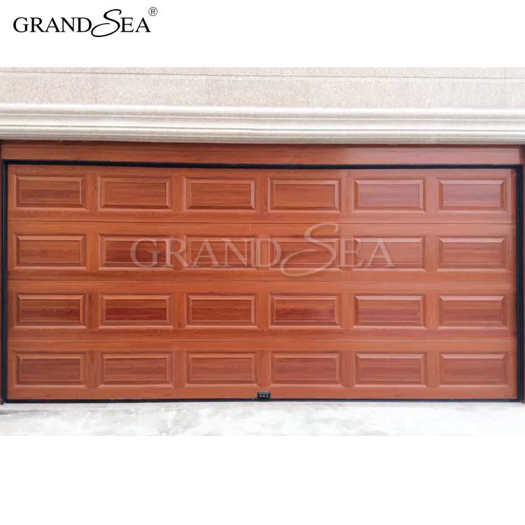 Cheap and fine 7x10 automatic aluminum remote control garage door