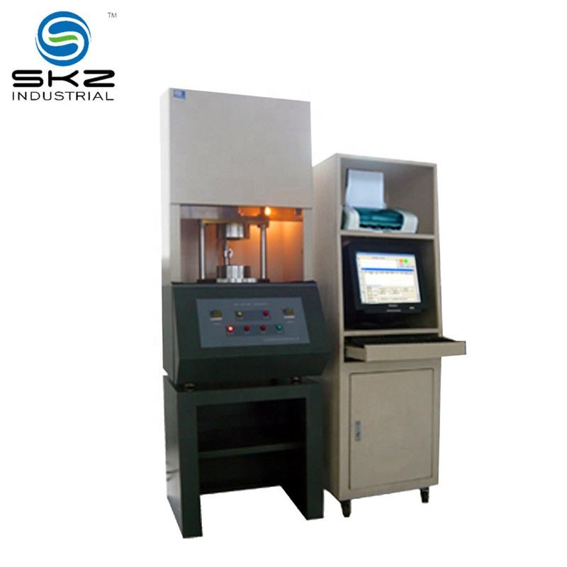 high accuracy unvulcanized rubber ASTMD5289 cure time tester machine