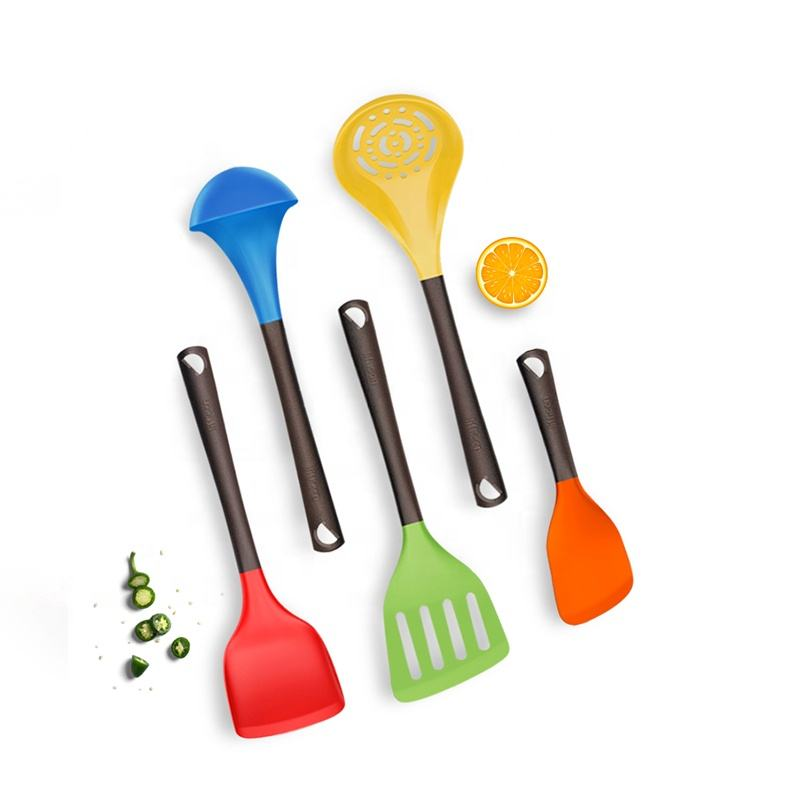 * Liflicon Brand Cooking Kitchen Tools Stainless Steel Silicone Cookware Utensils Sets For wholesales