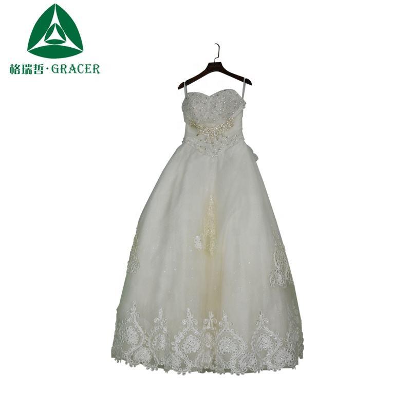 Corée utilisé vêtements robe de mariée vêtements de seconde main lots par kg
