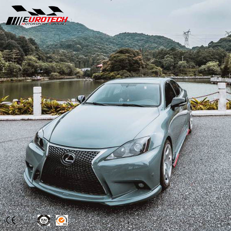 New styling facelift 2010-2014 IS 250 CONVERSION KIT TO 2015-2017 LEXUS IS250 body kit for PP MATERIAL