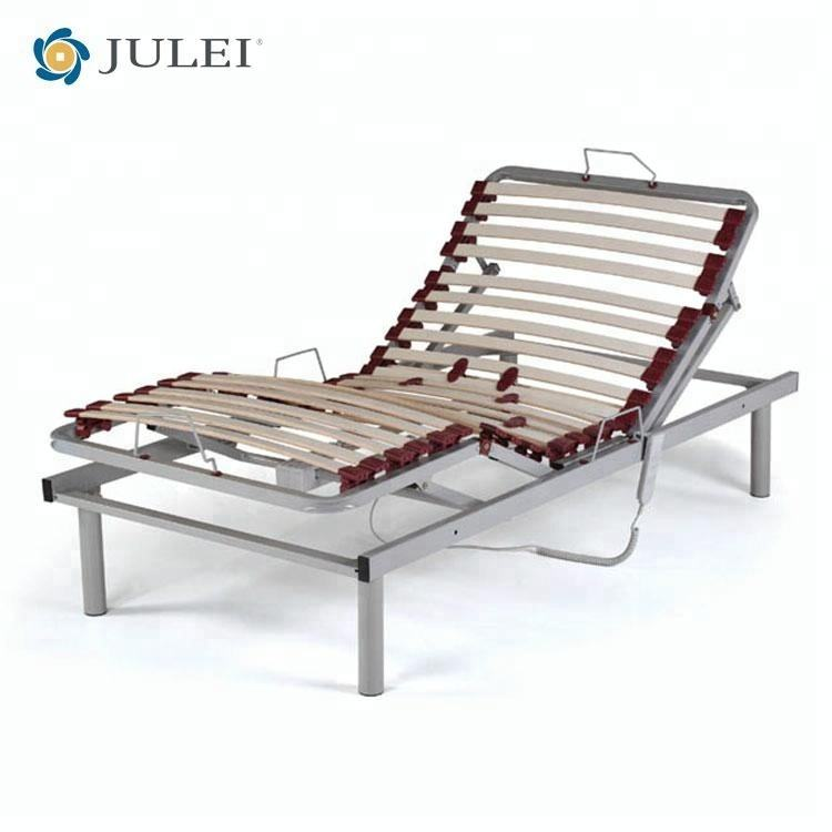 cadre de lit réglable électrique de meubles intelligents de <span class=keywords><strong>chambre</strong></span> à coucher avec le moteur d'Okin