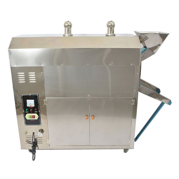Electric Infrared Roaster /Food grade 304 SUS/Pine nuts Chestnut Pistachio Sunflower seed Roaster machine