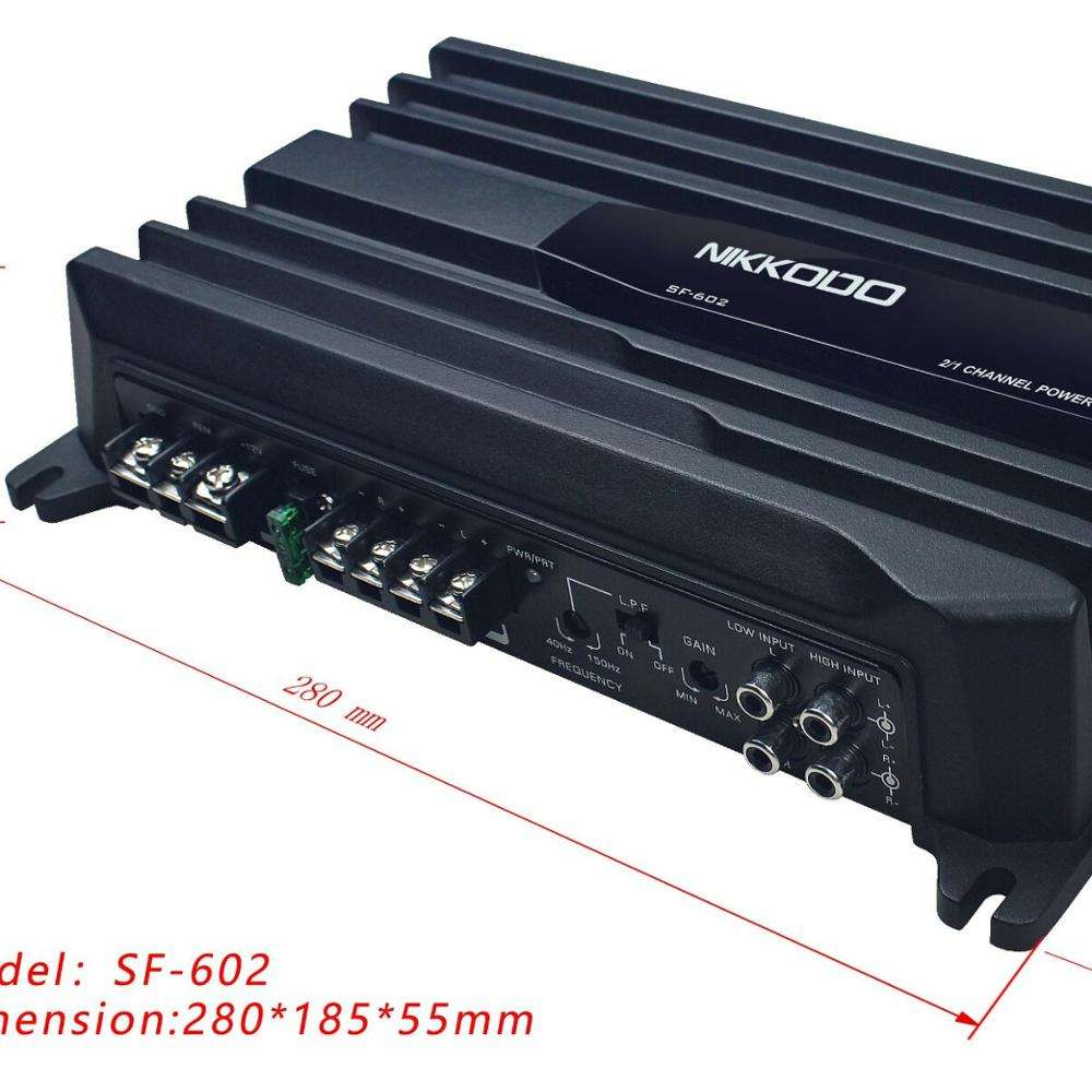 24V CAR AUDIO AMPLIFIER