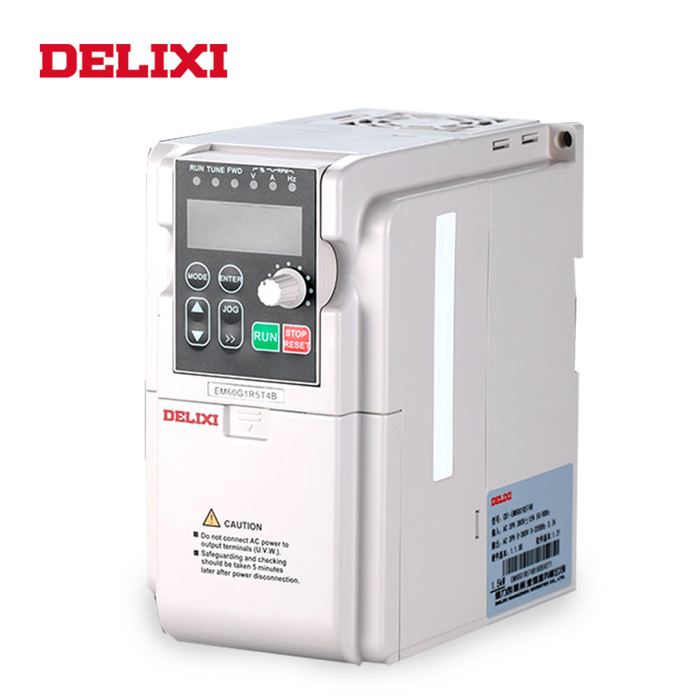 Delixi high quality Mini-size three phase 220 volt frequency inverter drive for asynchronous machine