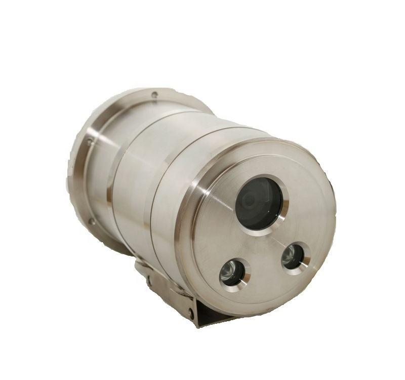 Explosion-preuve PTZ CMOS cctv caméra IP68 niveau 304 inoxydable boîtier de la caméra boîtier <span class=keywords><strong>en</strong></span> <span class=keywords><strong>acier</strong></span> jour et nuit surveillance