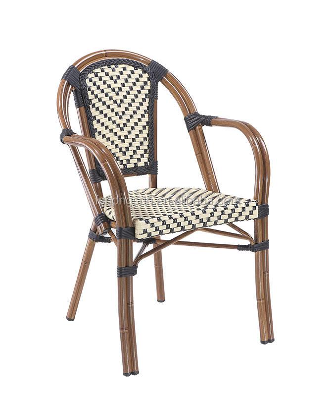 Alta calidad cómodo marco <span class=keywords><strong>de</strong></span> aluminio silla <span class=keywords><strong>de</strong></span> <span class=keywords><strong>mimbre</strong></span> al aire libre