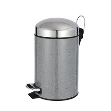 Household Pedal Bin Marble Stone Surface Trash Can  High Quality Pedal Bin