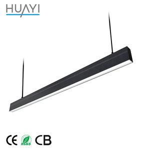 Thời Trang hiện đại Tiết Kiệm Năng Lượng LED Nhôm Tuyến Tính Đèn Mặt Dây Chuyền Cho Trang Trí Nội Thất