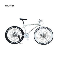 Double Disc Brake Fixed Gear bike Male and Female Students Retro Road Bike Solid Tires Bicycle