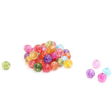High-end custom multicolor burst flower crystal loose beads semi-finished products DIY bracelet necklace accessories