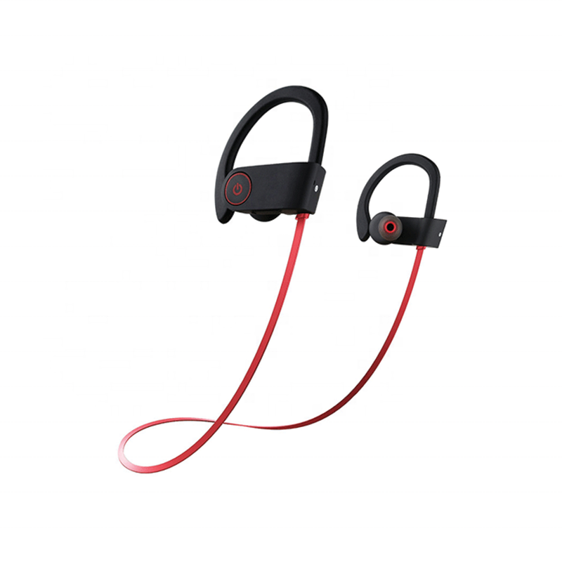 HiFi Bass Stereo Sweatproof Earbuds w/Mic Noise Cancelling Headset for Workout Running Gym 8Hours Play Time
