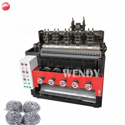 5Wire 5 Balls  Stainless Steel Scourer Making Machine/ Pot Scrubber Making Machine for Kitchen cleaning ball