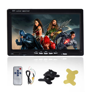 Wholesale AV/TV/VGA input 7 inch car led monitor for car/ bus usage